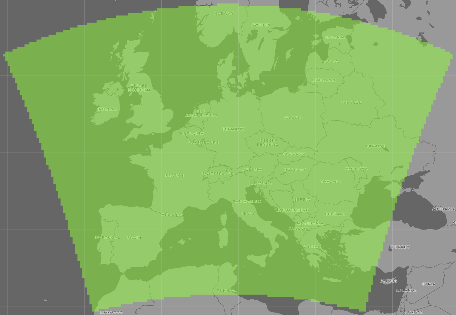 Superforecast Coverage Europe